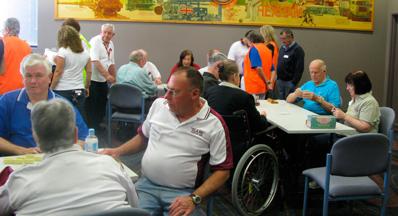 Stroke Olympics - members enjoy a day of social competition
