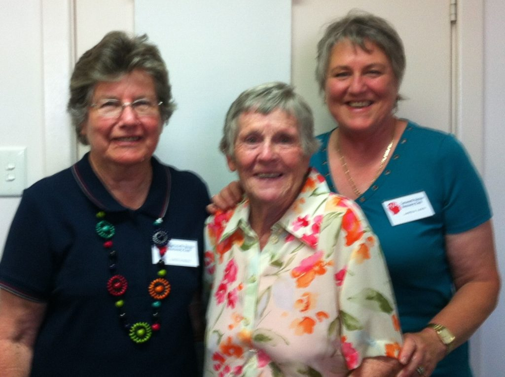 Alice Edmonds was awarded life membership for her work with the Tamworth Club over the past 20-something years in 2012.